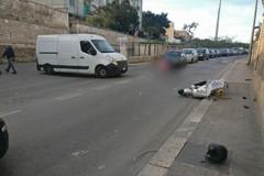 Bari, scooter contro un furgone in via Bruno Buozzi