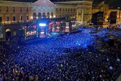 Capodanno in musica, successo a metà per il concertone di Bari