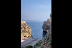 Pasquetta in quarantena, Polignano a Mare è deserta