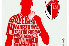 SSC Bari, giovedì 14 marzo la presentazione delle nuove maglie