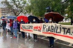 Il presidio antifascista per il processo a Casapound