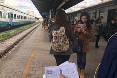 """""""Prossima fermata"""", gli studenti pendolari protestano anche a Bari"""