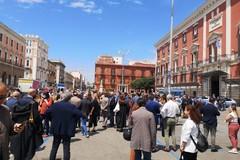 A Bari la protesta degli avvocati: «Richiamare attenzione sulla paralisi della giustizia»