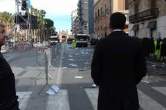 Amiu ripulisce le strade del centro dopo la visita del Papa a Bari