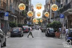 Natale a Bari: luminarie in via Manzoni, via Sparano e via Argiro donate da imprenditori locali