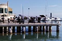 A Bari le riprese della serie Lolita Lobosco. Il set sul molo San Nicola