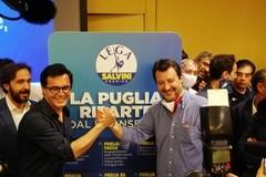 Salvini fa tappa a Bari: «Lega ha unito il centrodestra. Meno tasse per la Puglia»