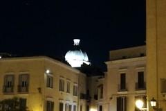 Bari vecchia, s'illumina la cupola di Santa Teresa dei Maschi