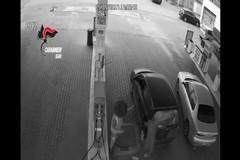 Alcune riprese delle rapine ai benzinai
