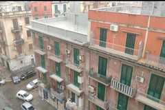 Temporali su Bari, la città sotto la grandine