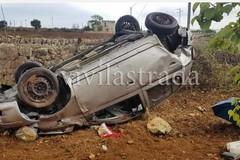 Auto si ribalta sulla provinciale Putignano-Gioia, muore ragazza di 26 anni