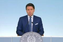 Giuseppe Conte sulla crisi di governo