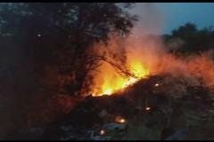 La stagione dei roghi a Bari continua, ennesimo incendio a Santa Rita