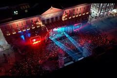 Capodanno in musica a Bari, in piazza 100mila spettatori per il concerto di Canale 5