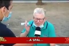 """Un tifoso del Bari finisce su Striscia la notizia: """"Se vinciamo a Spal..."""""""