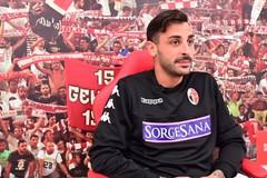 SSC Bari, si presenta il nuovo attaccante Adriano Montalto