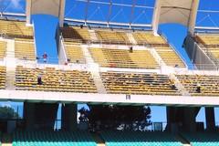 Stadio San Nicola, riprende la sostituzione dei seggiolini in tribuna ovest