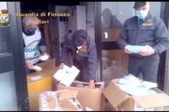Stretta della Finanza contro falsi prodotti anti-Covid, maxi sequestro in provincia di Bari
