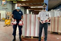 Porto di Bari, scoperto con imballaggi di sigarette contraffatti. Denunciato