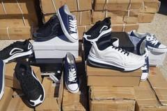 Porto di Bari, sequestratate oltre 5mila paia di scarpe contraffatte