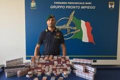 """Contrabbandava sigarette nel suo appartamento al San Paolo, sequestrati 5 chili di """"bionde"""""""