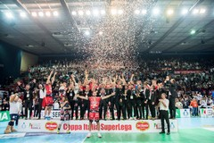 Coppa Italia di volley a Bari, trionfa Perugia
