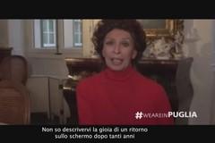 """""""La vita davanti a sé"""", Sophia Loren ringrazia Bari: «Mi sono sentita a casa»"""