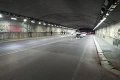 Nuova illuminazione nel sottovia Quintino Sella. Terminata l'installazione