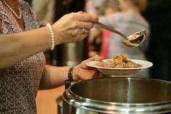 Evento Megamark a Bari, il cibo avanzato per la mensa di InConTra