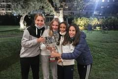 """Bari """"capitale"""" della racchetta, le ragazze del Circolo tennis campionesse d'Italia under14"""