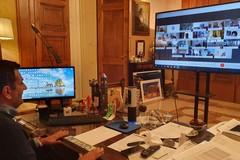 """Città metropolitana di Bari, Decaro istituisce la """"stanza virtuale"""" con i 41 sindaci"""