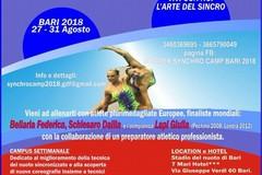 Il Summer Synchro Camp 2018 allo stadio del nuoto di Bari