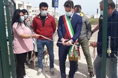 Noicattaro (Bari), inaugurata l'area sgambamento cani in via Pisacane