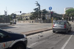 Tamponamento sul ponte di Japigia, traffico rallentanto