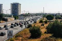 Esodo estivo, disagi sulla tangenziale di Bari. Traffico bloccato da San Pasquale