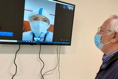 Bari, colloqui con pazienti Covid in Fiera: allestita un'area per i familiari