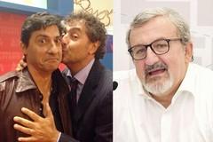 Toti e Tata scherzano con Michele Emiliano