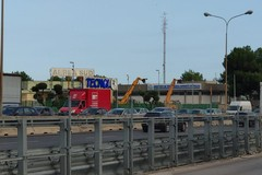 Doppio incidente sulla tangenziale di Bari, traffico in tilt