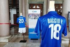 Un Secolo d'Azzurro, a Bari la mostra delle maglie storiche della nazionale di calcio