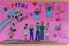 Murales colorano la pediatria del San Paolo di Bari
