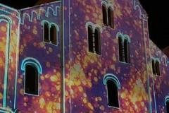 Il videomapping sulla basilica di San Nicola