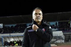 Catanzaro-Bari, Vivarini: «Peccato per l'inizio ripresa. Una partita strana»