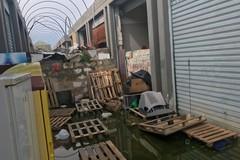 """Rottami, detriti e rifiuti, quello che resta del """"moderno"""" mercato di San Pio"""