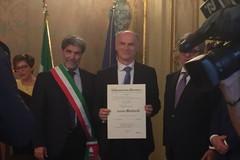 Montaruli nominato Ufficiale al Merito della Repubblica Italiana