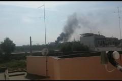 Ancora incendi a Catino, rifiuti al rogo nelle campagne