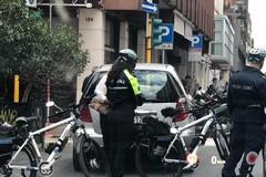 Bari, in azione i vigili in bicicletta. Piogge di multe in via Argiro