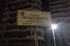 "Bari rende onore al suo capitano. A Poggiofranco spunta piazza ""Franco Brienza"""