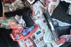 San Paolo, summit criminale interrotto dai Carabinieri. Preso un pregiudicato, sequestrate due pistole
