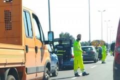 Incidente in tangenziale all'altezza di Palese. Traffico in tilt verso Bari