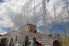 Arrivano le prime luminarie, Bari si prepara per San Nicola